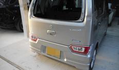 神戸市 スズキワゴンR リアドア ヘコミ修理サムネイル