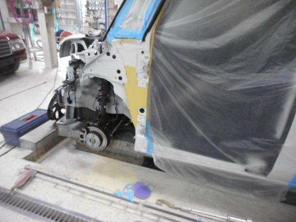 神戸市 ダイハツタント バンパー、ドアパネル修理